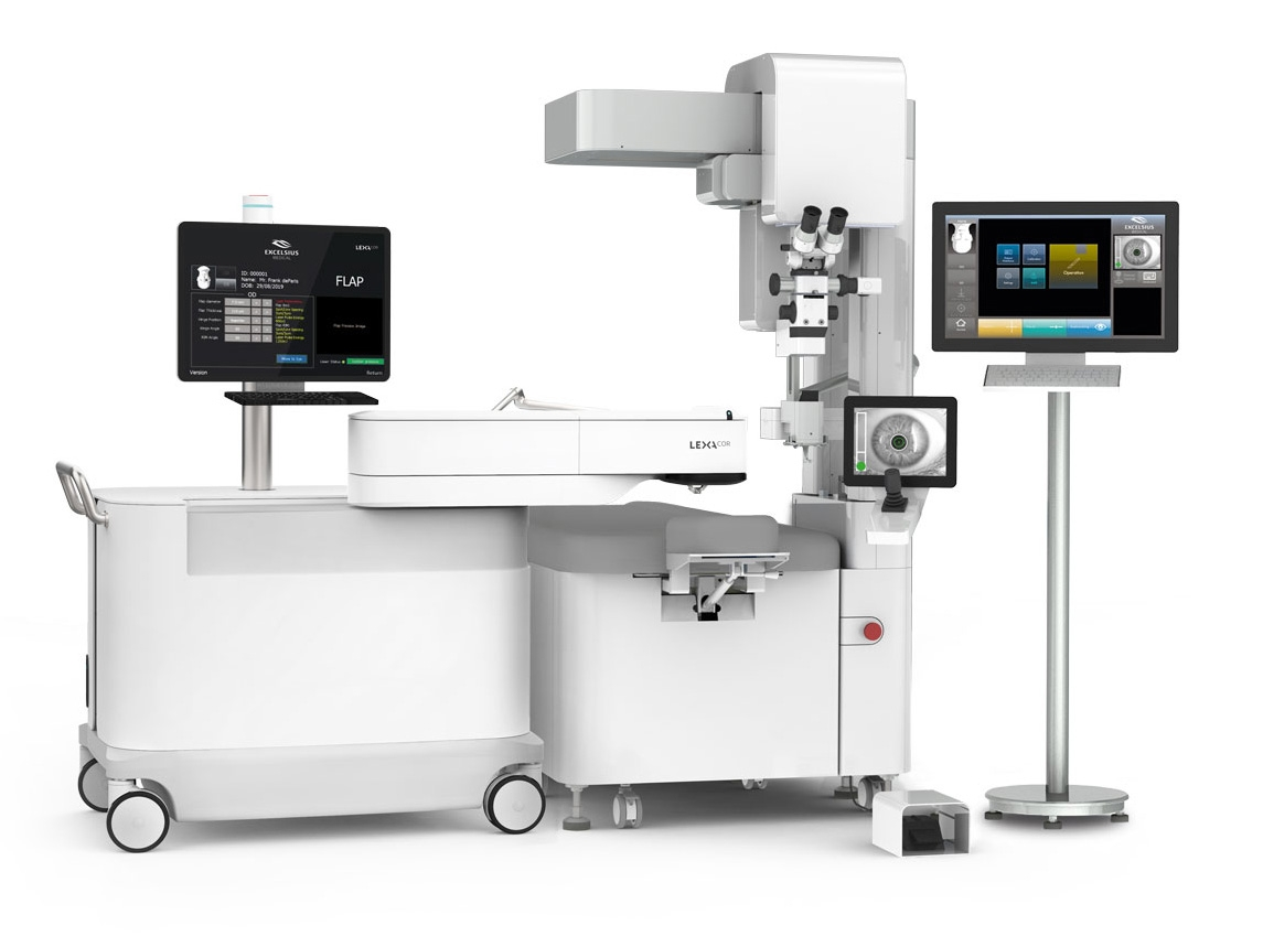 EXCELSIUS Ophthalmic Surgery Workstation